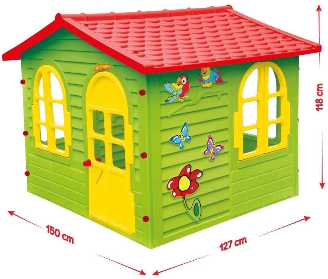 Mochtoys Du Y Domek Ogrodowy Dla Dzieci Okiennice